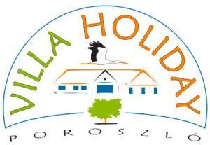 Villa Holyday Poroszló logókép